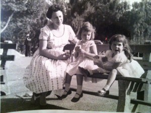 Our beautiful mother and us on a sunny California Easter Day.